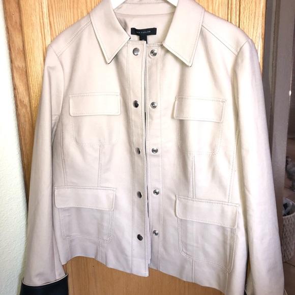 Ann Taylor Jackets & Blazers - ❤️Ann Taylor❤️NWT jacket w/faux leather cuff trim
